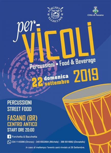 PerVicoli - Percussioni, Food & Beverage