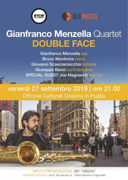 Gianfranco Menzella Quartet : Double Face