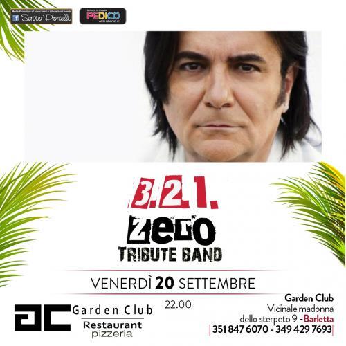 3 2 1 Zero tribute band Renato Zero a Barletta!