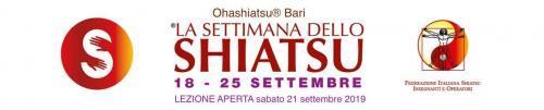 Per la settimana nazionale dello Shiatsu Rossana Tursi, Insegnante Certificata Ohashiatsu® Senior e Insegnante ed operatrice qualificata FISieo, terrà una lezione aperta e conoscitiva gratuita sul metodo Ohashiatsu®