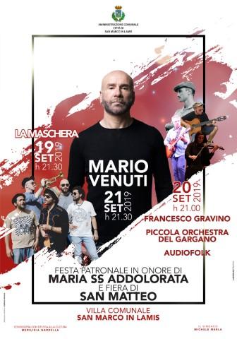 Mario Venuti live a San Marco in Lamis