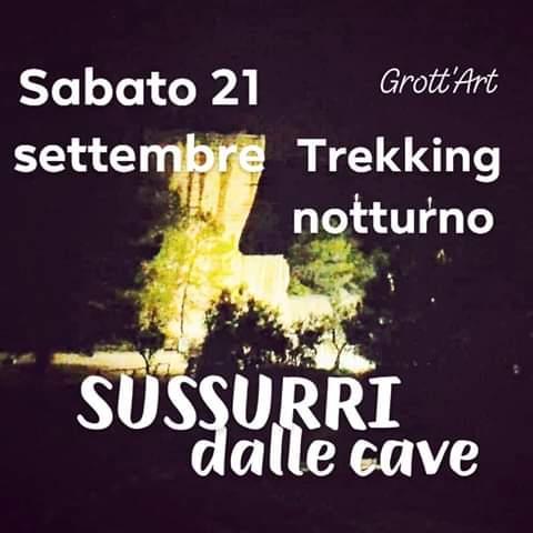 Sussurri Dalle Cave Trekking Notturno
