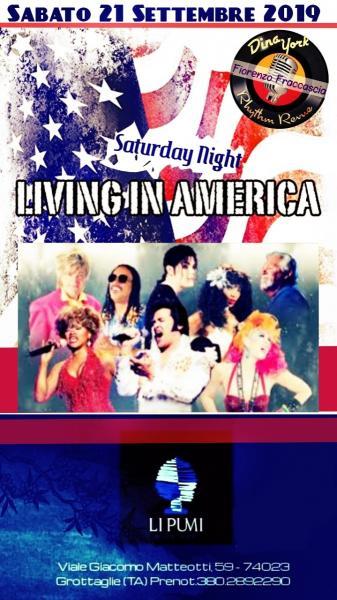 Living in America. Tributo ai grandi autori americani