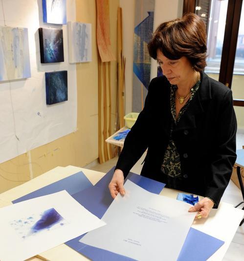 Alessandra Angelini: Incidere con la luce