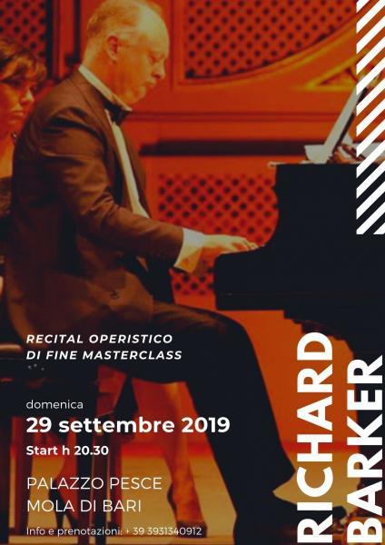 Recital operistico di fine Masterclass con Richard Barker