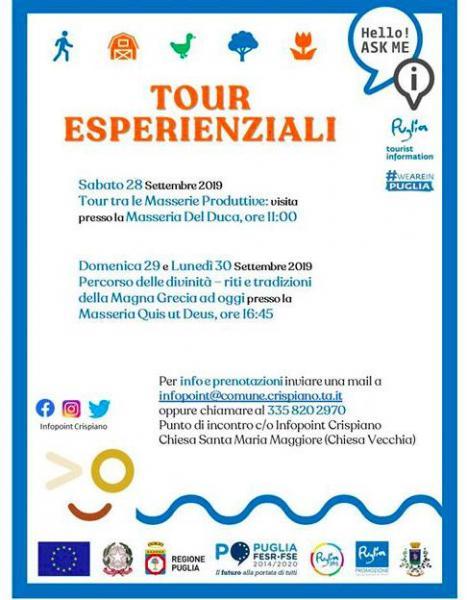 Tour Esperienzali