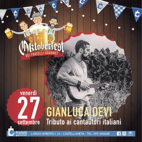 Il miglior tributo ai Cantautori Italiani al Sud - Gianluca Devi (Live)