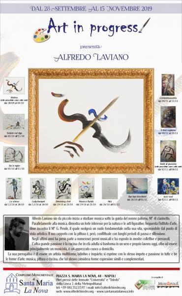 Art in progress presenta Alfredo Laviano
