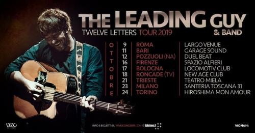 The Leading Guy in concerto - Twelve Letters Tour