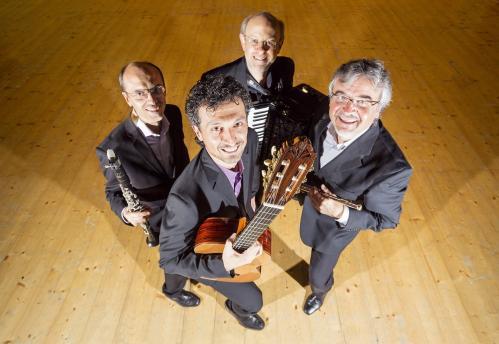 Tango & Sudamerica con Segovio Quartet