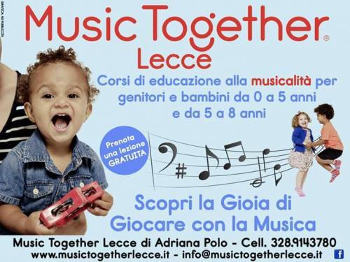 Music Together Lecce: Vivi la musica col tuo bambino