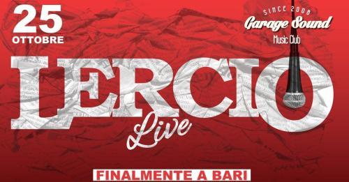 Lercio Live al Garagesound