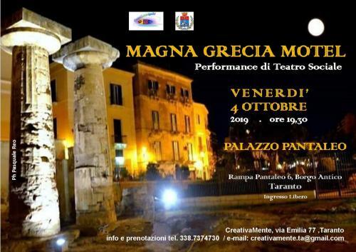 Magna Grecia Motel - Performance di Teatro Sociale