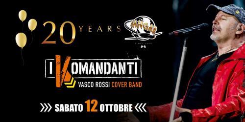 20'Compleanno HANGAR - VASCO I KOMANDANTI + DJ.set