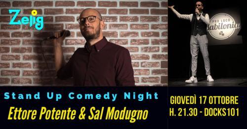 Stand-Up Comedy Night | Ettore Potente & Sal Modugno