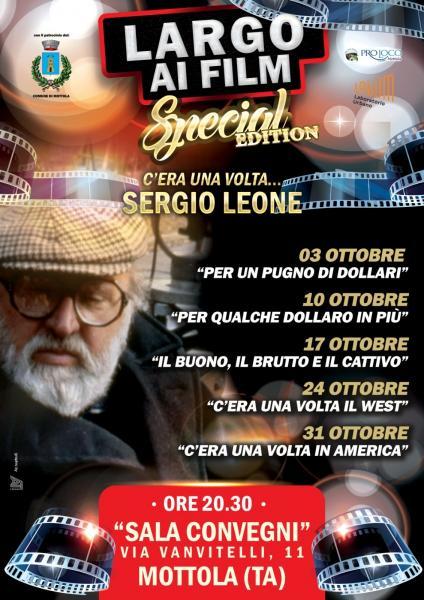Largo ai film - Special Edition   C'era una volta... Sergio Leone