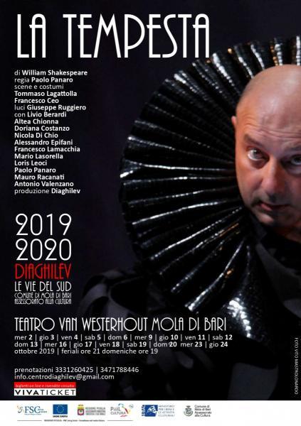 LA TEMPESTA di W.Shakespeare - regia  Paolo Panaro