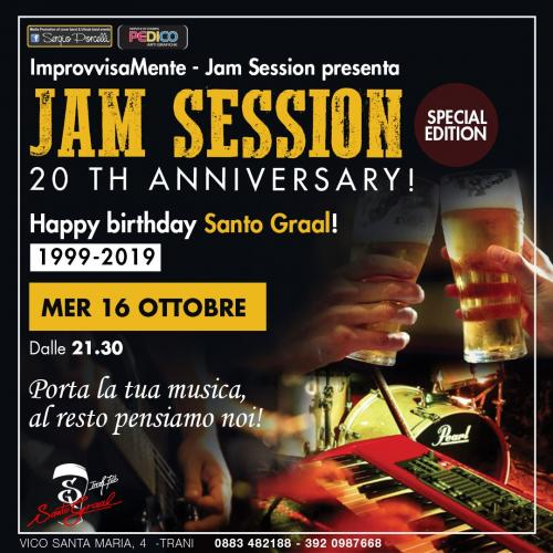 Happy B Santo Graal 1999 - 2019 Jam session special edition