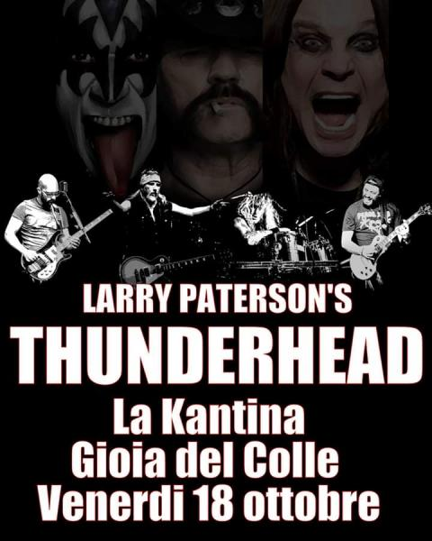 LARRY PATTERSON'S THUNDERHEAD