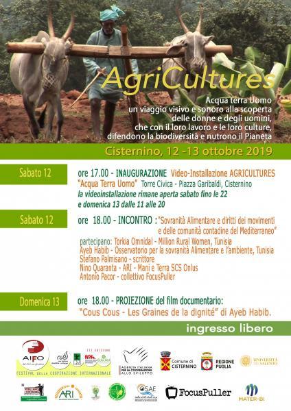 Agricultures - Acqua Terra Uomo