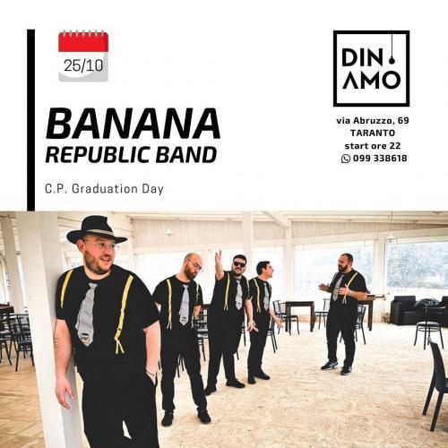 Banana Republic Acoustic Trio live al Dinamo