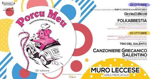 """Ricco programma per la festa del """"Porco Meu"""" di Muro Leccese"""
