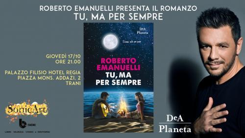 Incontro con lo scrittore Roberto EMANUELLI