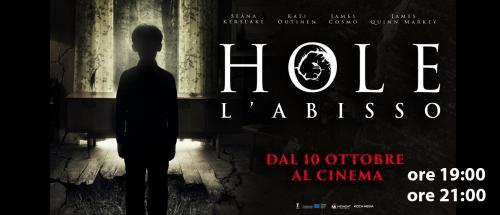 Sala1: IO,LEONARDO (ore17:00) - HOLE-L'ABISSO (ore19:00 e 21:00)