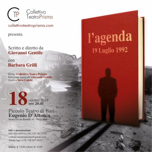 L'AGENDA - 19 luglio 1992