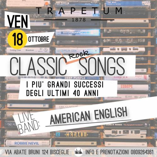 American English - Classic Rock Songs a Bisceglie