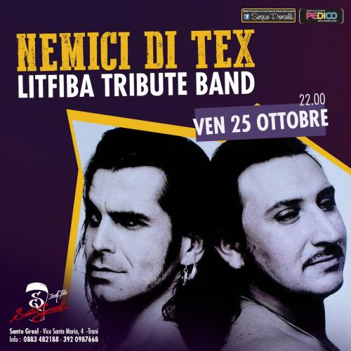 Nemici di Tex - Litfiba tribute band a Trani