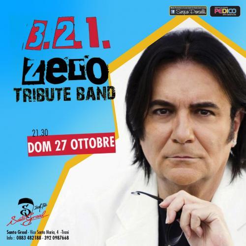 3 2 1 Zero tribute band live a Trani