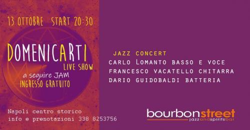 Live music Show nel cuore di Napoli con DomenicArti