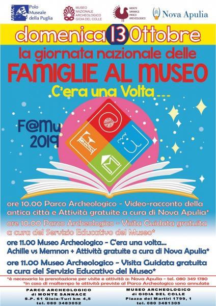 Famiglie al Museo 2019 - Parco Archeologico di Monte Sannace