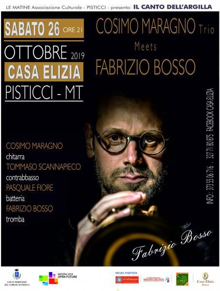 COSIMO MARAGNO trio - meets FABRIZIO BOSSO
