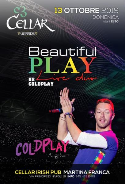 Coldplay Night by Beautiful Play Live Duo