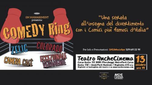 Comedy Ring, una serata di cabaret a Bari