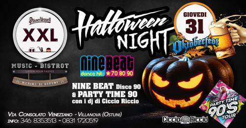 Halloween 2019 NineBeat+Ciccio Riccio at XXL Music Bistrot