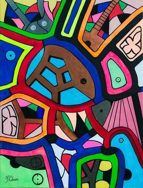 """""""Art in Music"""" le opere dell'artista Pasquale Colucci"""