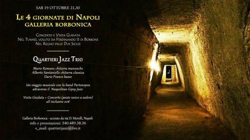 Alla Galleria Borbonica un Viaggio tra la musica e la storia visita guidata + concerto