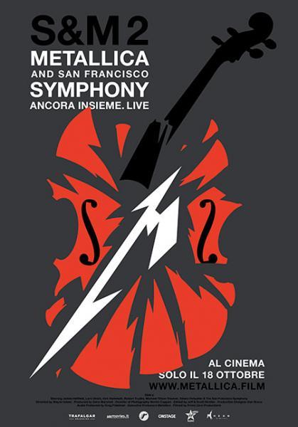 "Arriva  il film concerto ""Metallica & San Francisco Symphony: S&M2"""