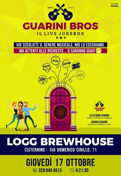 Guarini Bros. LIVE JUKEBOX - The LOGG Sessions 2.0