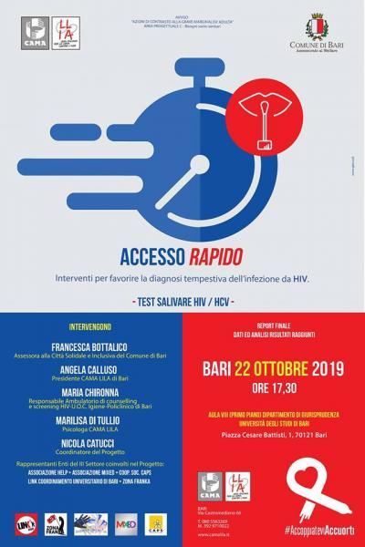 ACCESSO RAPIDO - REPORT FINALE dati ed analisi dei risultati raggiunti