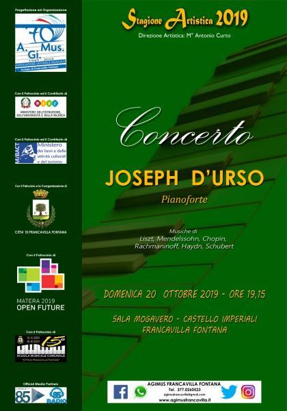 Concerto per Pianoforte - Joseph D'URSO