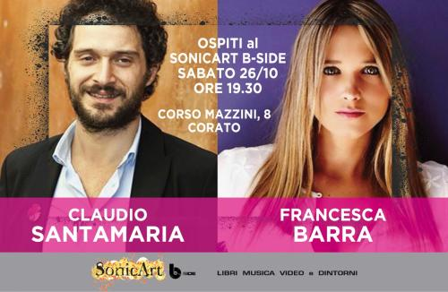 Claudio Santamaria e Francesca Barra a Corato
