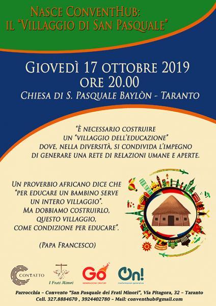 """Nasce ConventHub: il """"Villaggio di San Pasquale"""""""