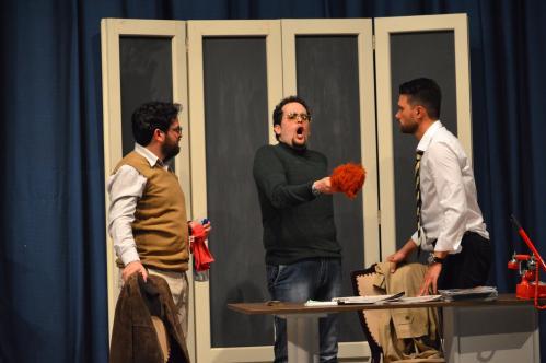 TRE SULL'ALTALENA - Spettacolo Teatrale di Luigi Lunari