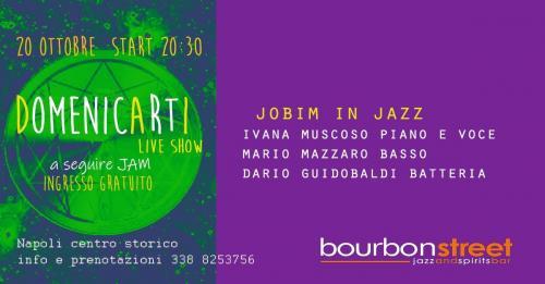 DomenicArtI show - Live music in prima serata al bourbon street