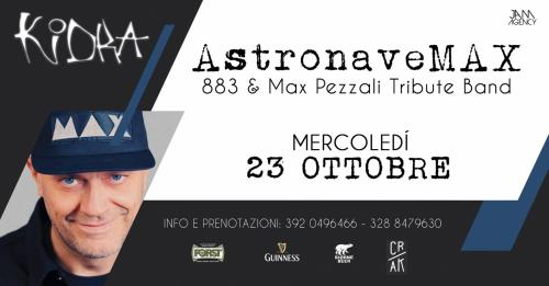"""ASTRONAVE MAX """" Max Pezzali e 883"""" Tribute Band!"""
