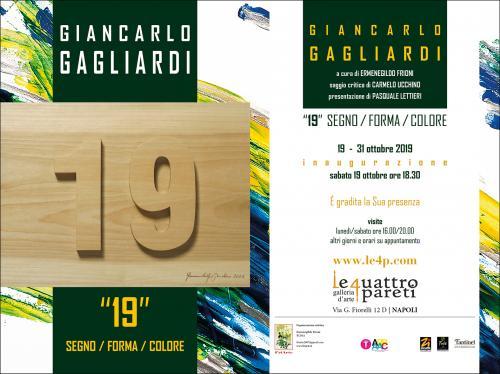 Giancarlo Gagliardi / 19 Forma Segno Colore